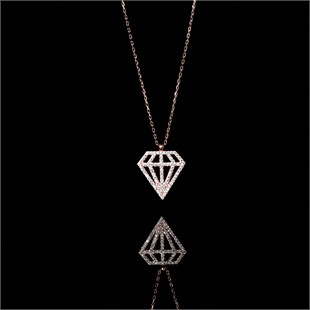 De Luxe Necklace, White Power of Diamond