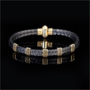 Premium Power, Black & Yellow Bracelet