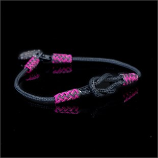 Magic Ancient Touch, Black & Pink Bracelet