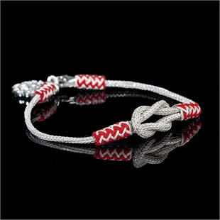 Magic Ancient Touch, White & Red Bracelet