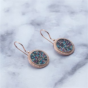Infinity Earring, Colorful Sky