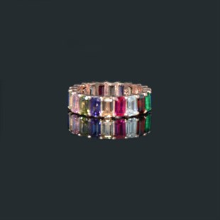 Mythical Colorful Sky Ring