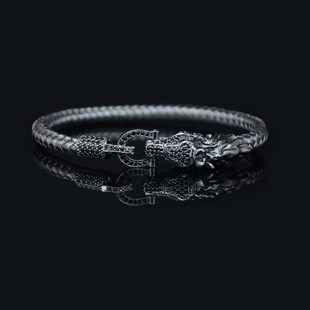 Premium Horseshoe & Dragon Bracelet
